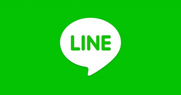 LINE에서도 한국어로 대응하고 있습니다.